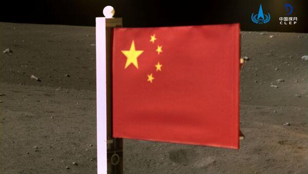 La bandiera nazionale della Cina sulla luna - Sputnik Italia