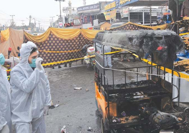 Esplosione a Rawalpindi, Pakistan
