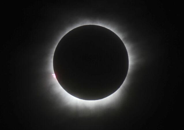 Eclissi solare (immagine d'archivio)