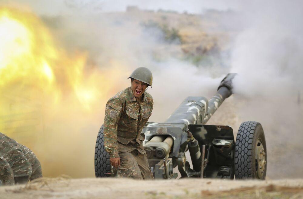 Un militare armeno spara contro le postazioni dell'Azerbaigian, Nagorno-Karabakh