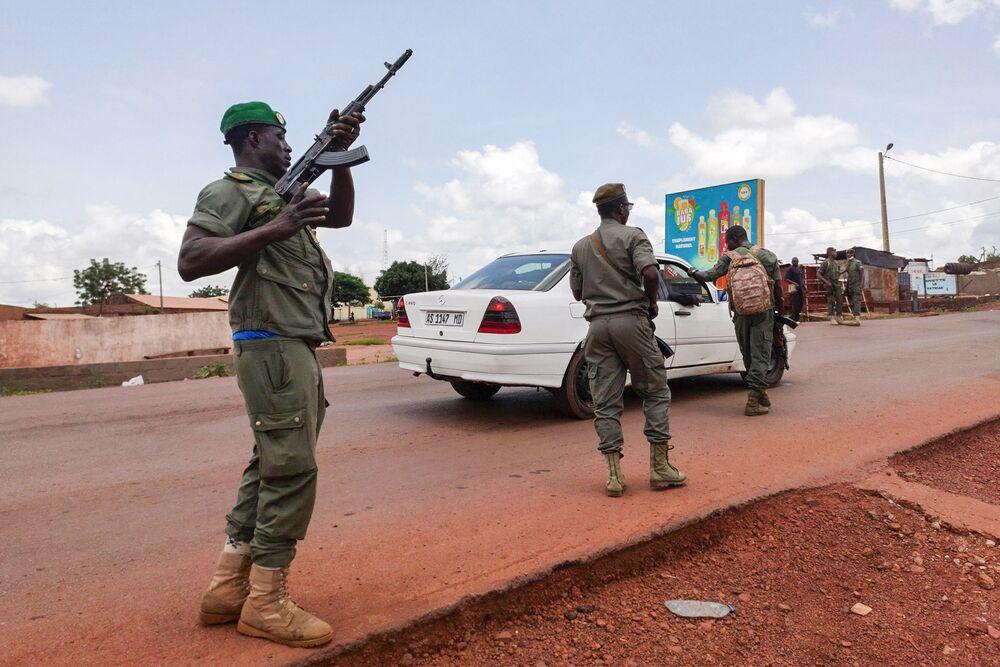 Colpo di stato militare in Mali, agosto 2020