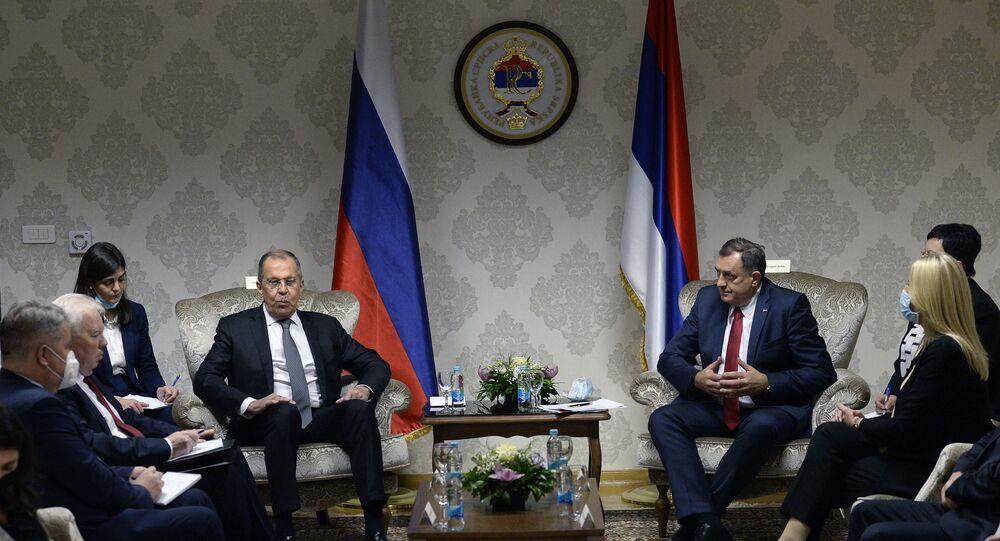 Lavrov in Bosnia-Erzegovina