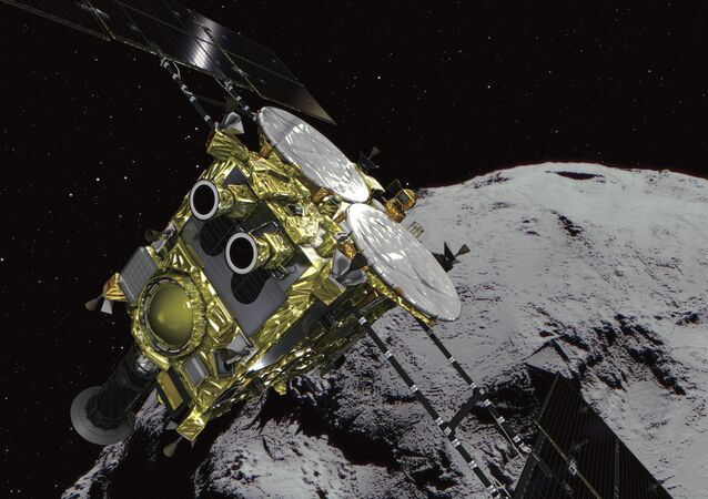 Hayabusa 2 presso l'asteroide Ryugu