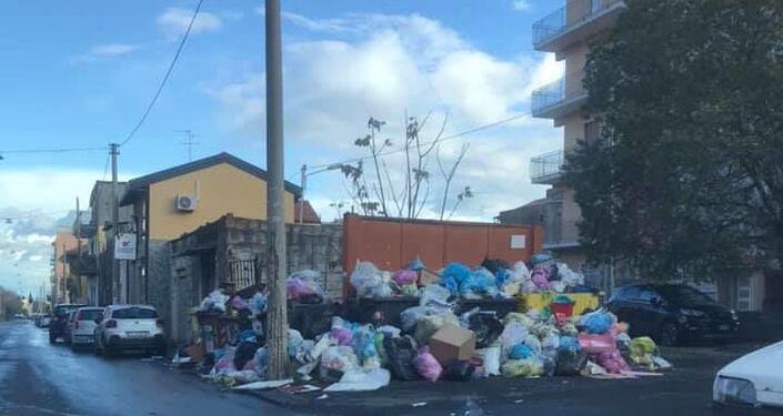 Rifiuti in Catania