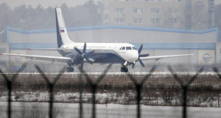 Il nuovo Il-114-300 sulla pista di Zhukovsky pronto al suo primo volo