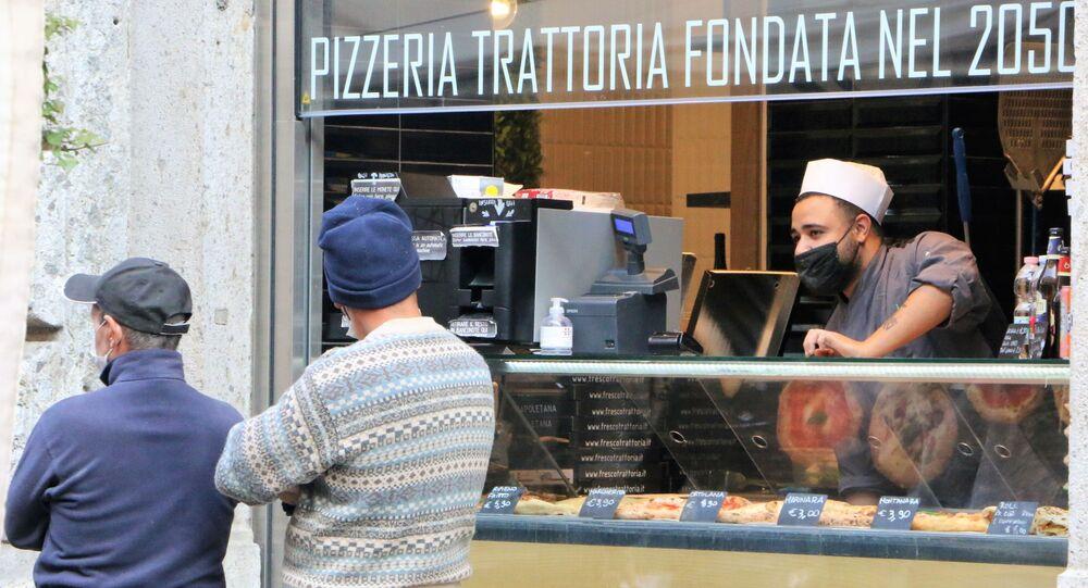 Una pizzeria a Milano