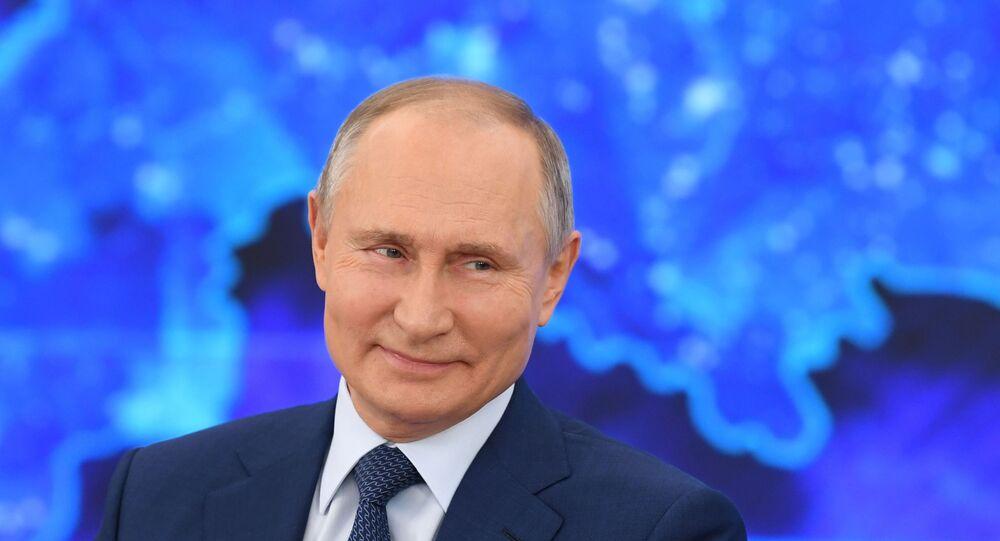 La Conferenza stampa di fine anno di Vladimir Putin 2020