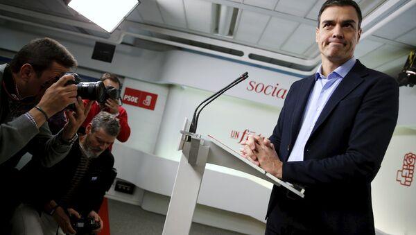 Il presidente del Consiglio spagnolo Pedro Sanchez - Sputnik Italia
