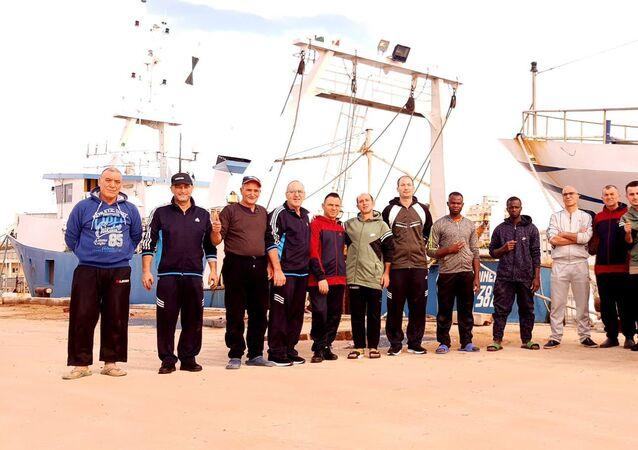 I pescatori italiani liberati a Bengasi