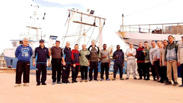 I pescatori italiani liberati a Bengasi - Sputnik Italia