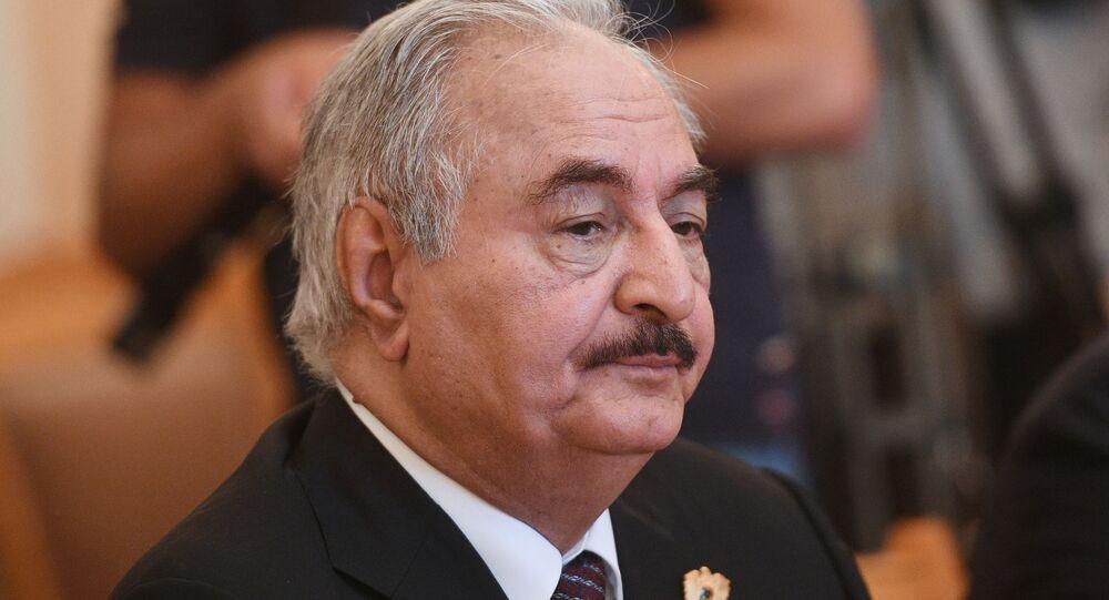 Khalifa Belqasim Ḥaftar Alferjani, generale e politico libico