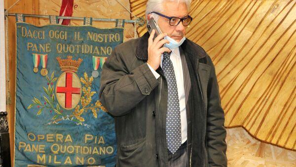 """Luigi Rossi, vicepresidente di """"Pane Quotidiano"""" - Sputnik Italia"""