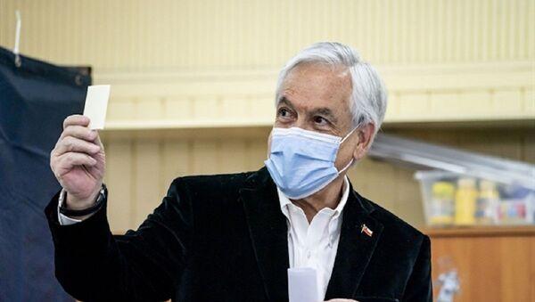Il presidente cileno Sebastián Piñera - Sputnik Italia