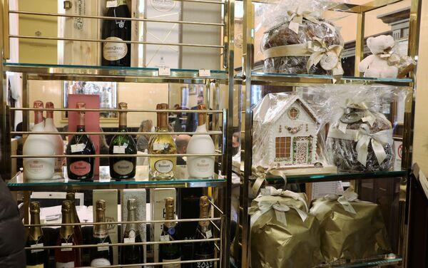 Un negozio dei prodotti per il Natale - Sputnik Italia