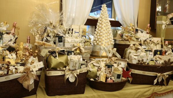 Negozio dei regali per il Natale - Sputnik Italia