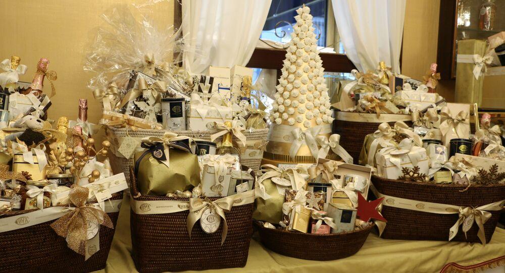 Negozio dei regali per il Natale