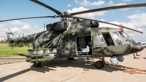 Новый военно-транспортный вертолет Ми-8АМТШ-ВН - Sputnik Italia