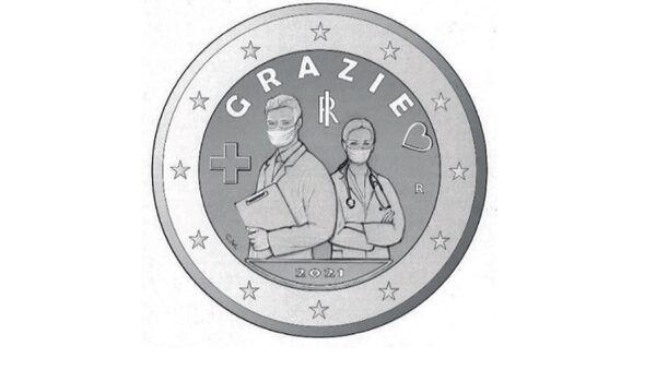 Moneta 2 euro - Sputnik Italia