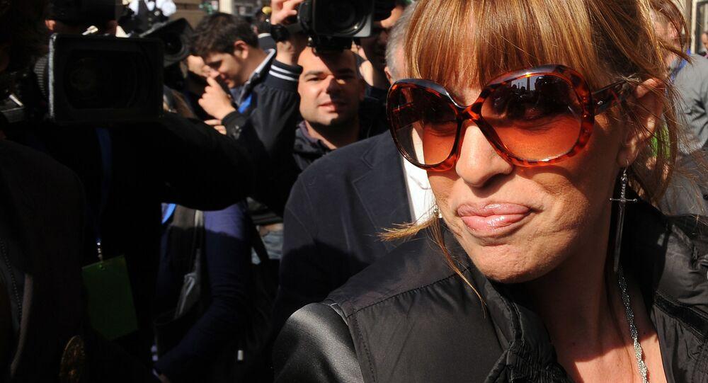 Alessandra Mussolini, una politica italiana