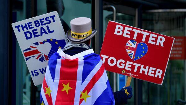 Attivista anti-Brexit Steve Bray - Sputnik Italia