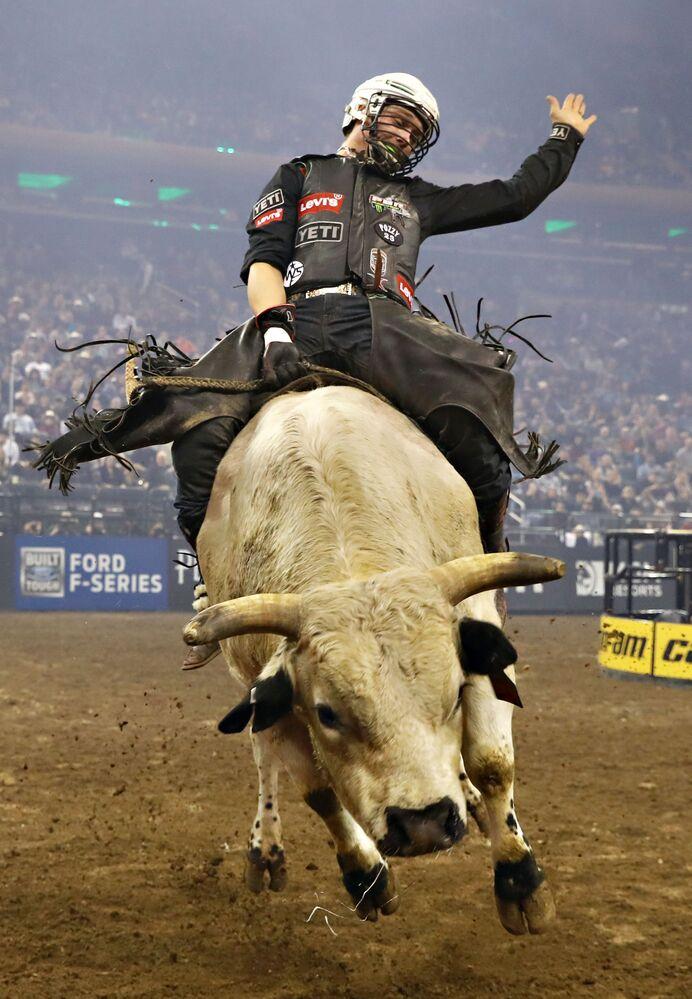 Partecipante al concorso Bull Riders Monster Energy Buck Off a New York