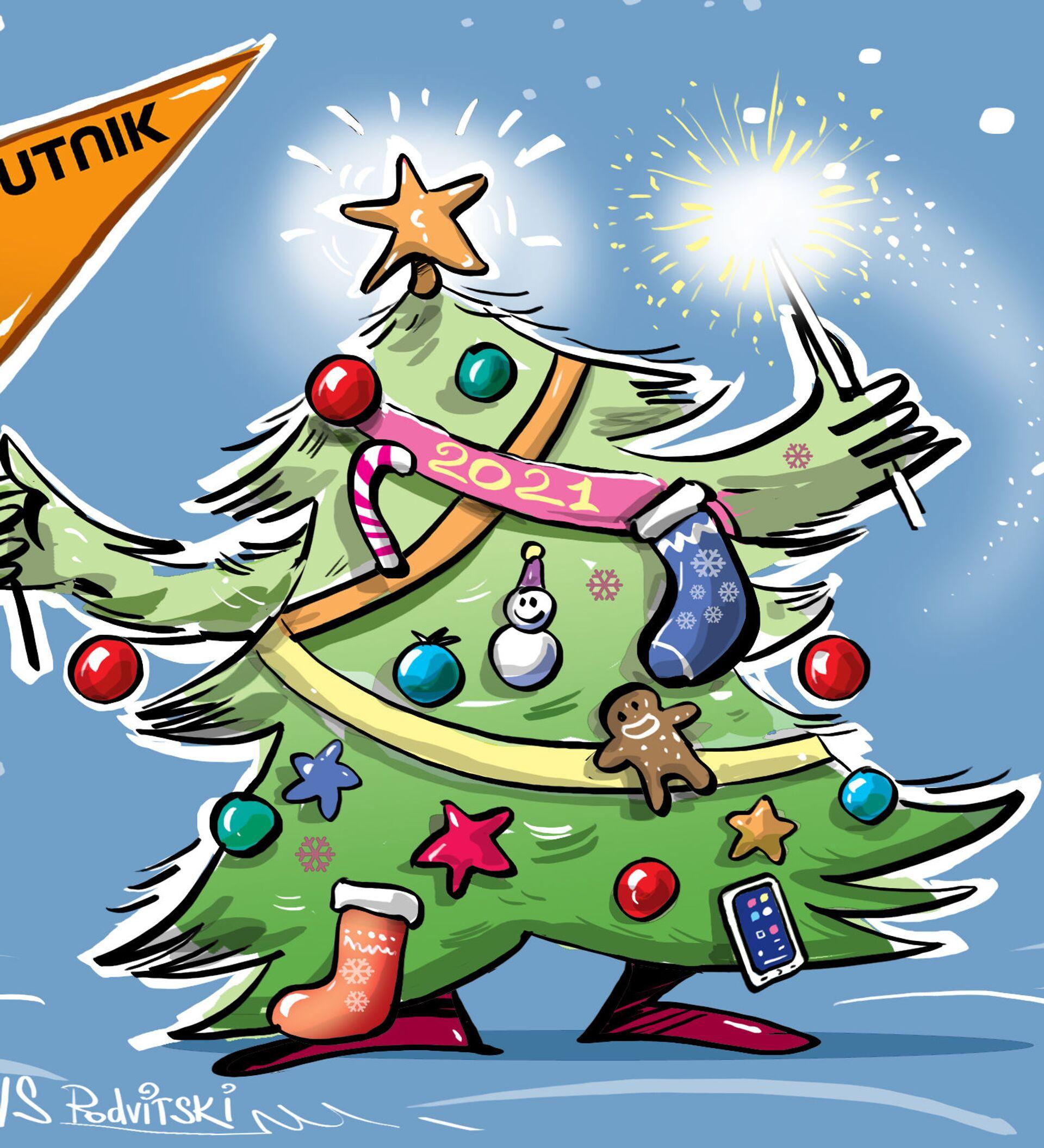 Buon Natale Italia.Buon Natale Da Sputnik Italia 24 12 2020 Sputnik Italia