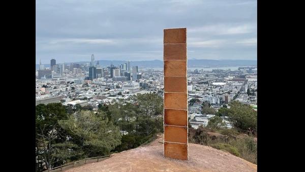 Monolite San Francisco - Sputnik Italia