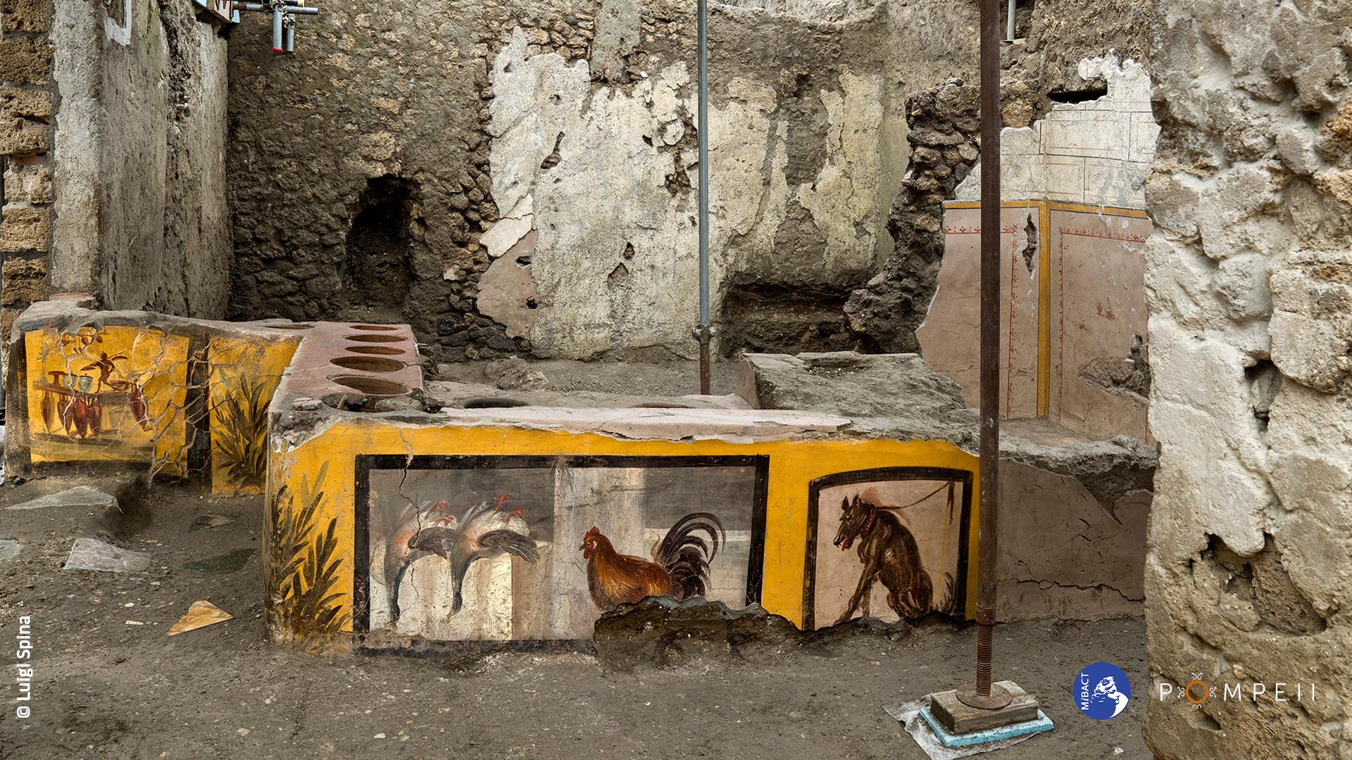 Termopolio della Regio V, scoperta degli scavi di Pompei - Sputnik Italia, 1920, 12.08.2021