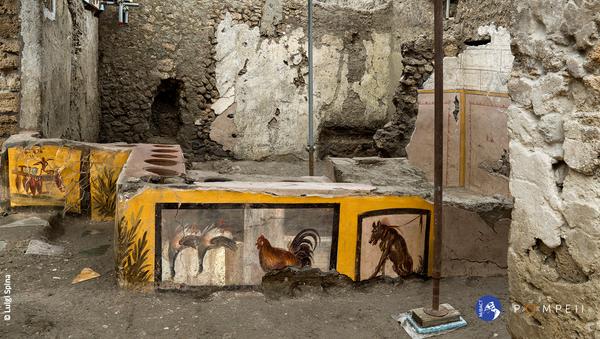 Termopolio della Regio V, scoperta degli scavi di Pompei - Sputnik Italia
