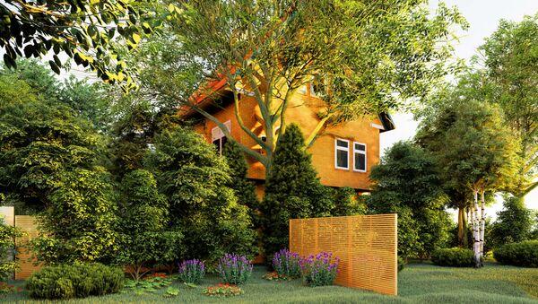 Casa privata con il giardino - Sputnik Italia