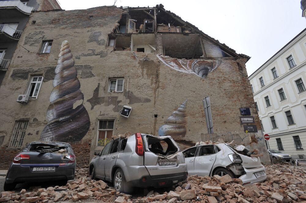 Conseguenze del terremoto di Zagabria, Croazia
