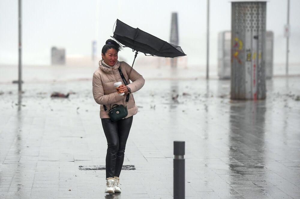 La tempesta Gloria ha colpito la costa orientale della Spagna il 21 gennaio 2020