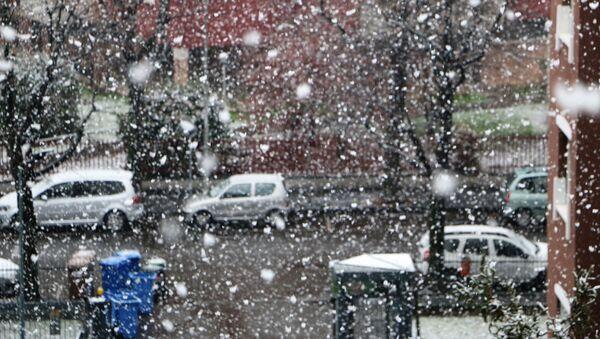 Milano imbiancata dalla neve - Sputnik Italia