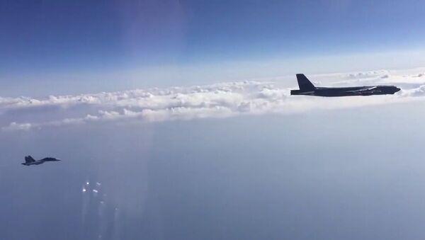 Interception of US Air Force B-52H bombers over the Black Sea - Sputnik Italia
