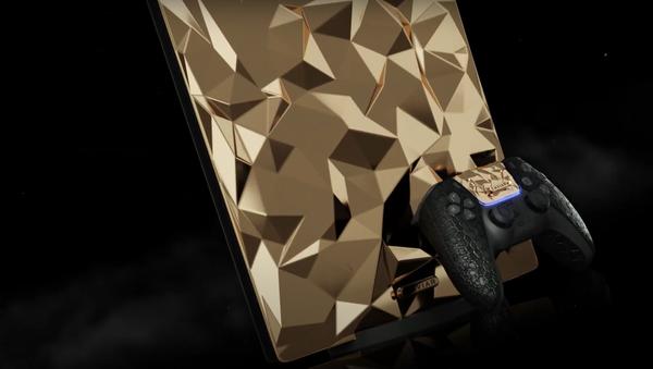 PlayStation 5 Golden Rock - Sputnik Italia