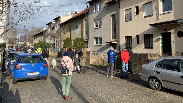 Dopo il terremoto in Croazia - Sputnik Italia
