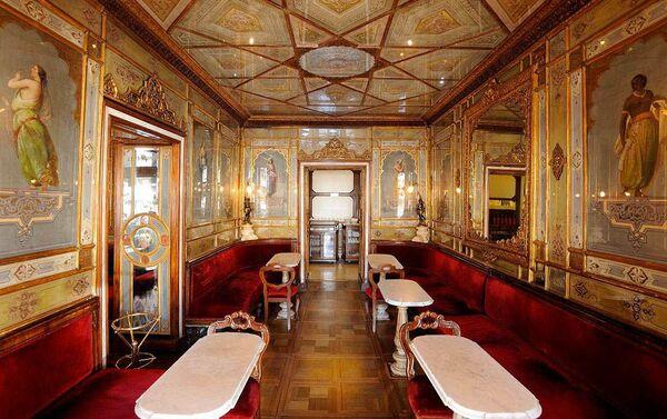 L'interno del caffè veneziano Florian - Sputnik Italia