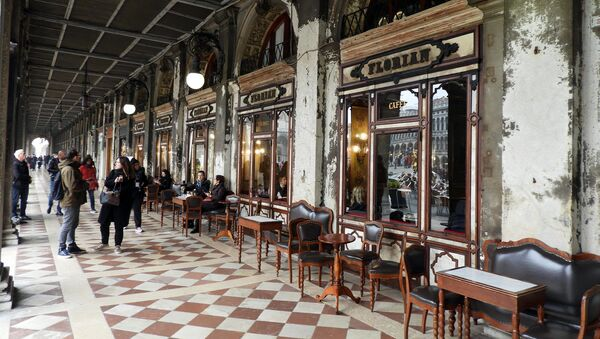 Caffè veneziano Florian - Sputnik Italia