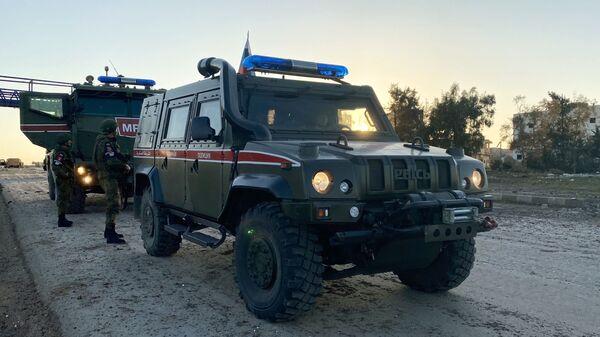 Russian military police patrol in Idlib, Syria - Sputnik Italia
