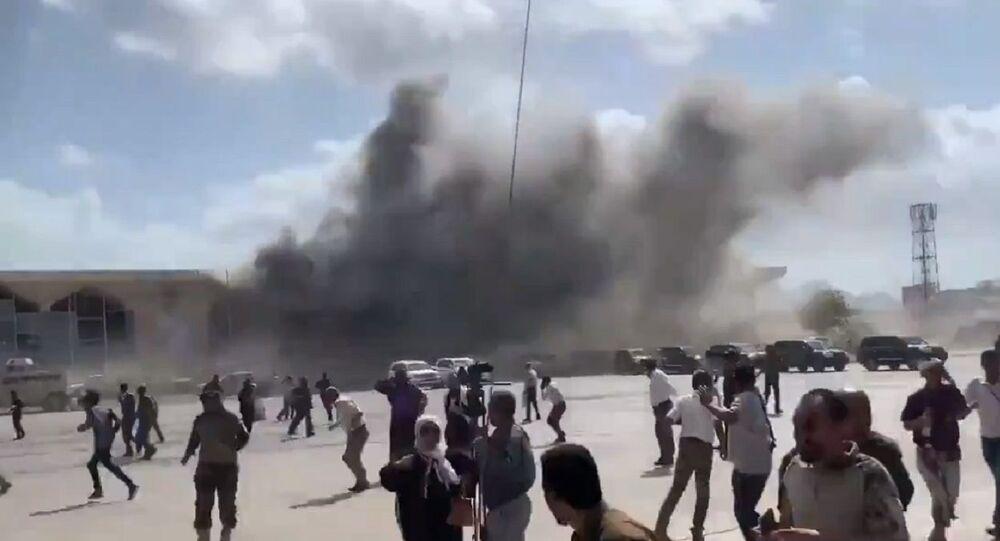 Esplosione all'aeroporto di Aden in Yemen