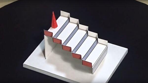 La scala di Schröder in 3D - Sputnik Italia