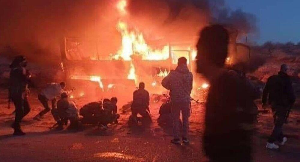 Attacco terroristico contro autobus in Siria del 30 dicembre