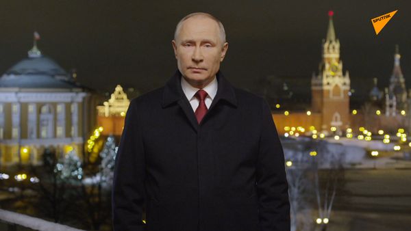 Il discorso di fine anno di Vladimir Putin: sogniamo pace e prosperità - Sputnik Italia