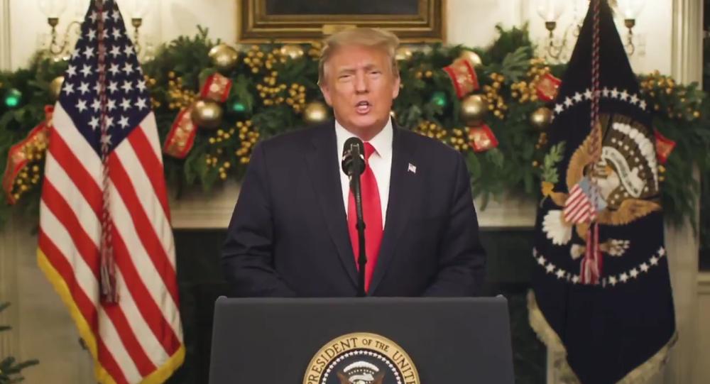 Trump discorso fine anno
