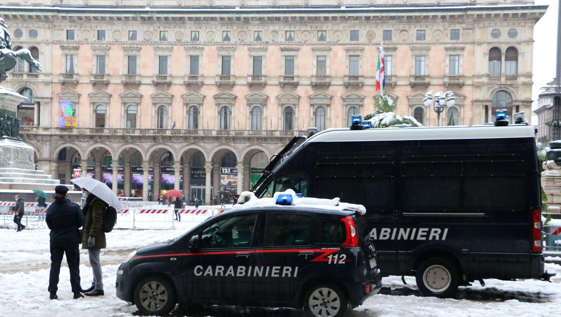 Carabinieri a Milano - Sputnik Italia, 1920, 25.04.2021