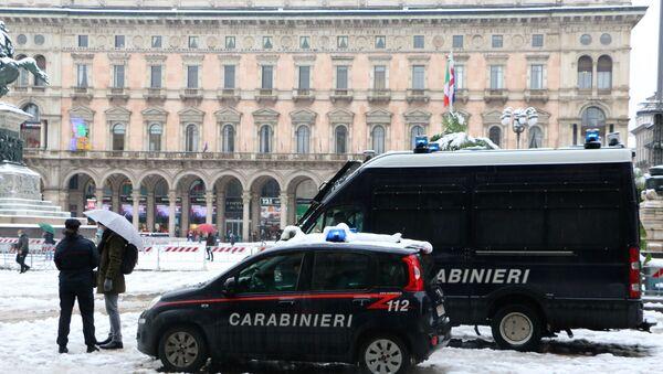 Carabinieri a Milano - Sputnik Italia