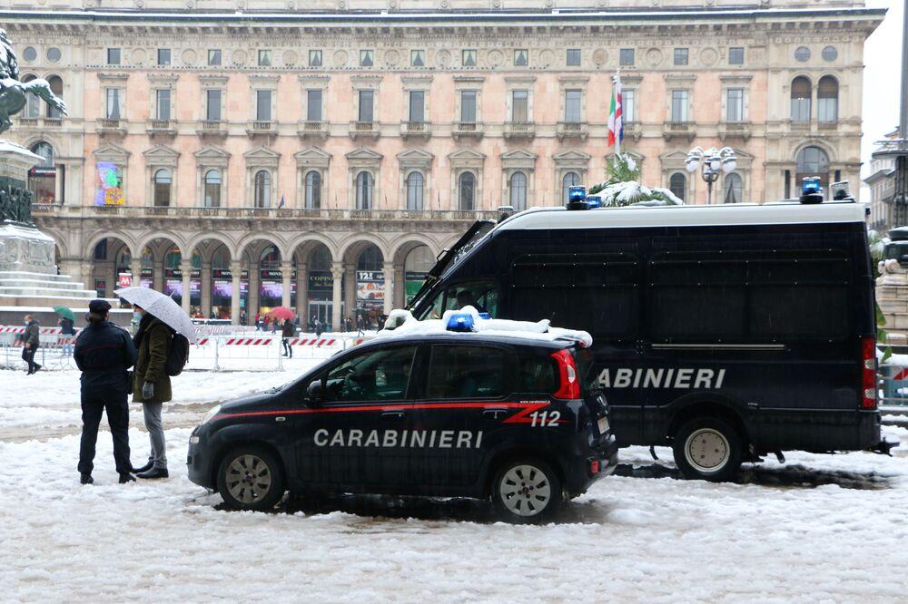 Carabinieri a Milano