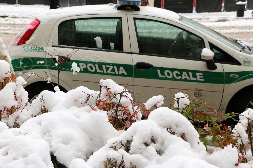 La polizia locale di Milano