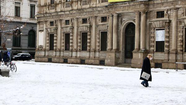 Neve a Milano - Sputnik Italia