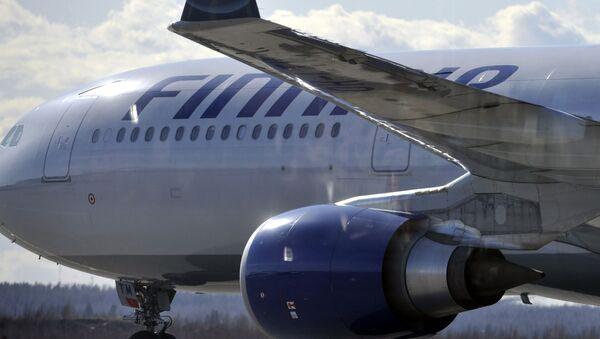 Un aereo della compagnia Finnair - Sputnik Italia